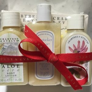 Crabtree & Evelyn Mini Gift Set Soap & Body Lotion